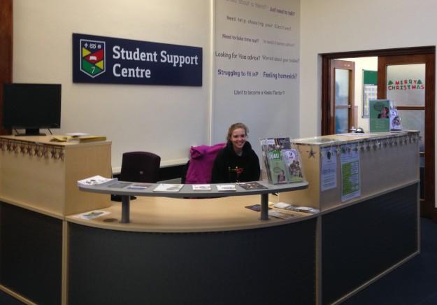 Keele University helpdesk