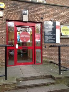 Cardiff University services centre