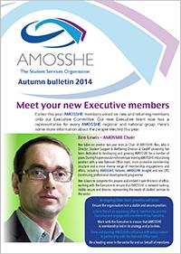 AMOSSHE bulletin autumn 2014