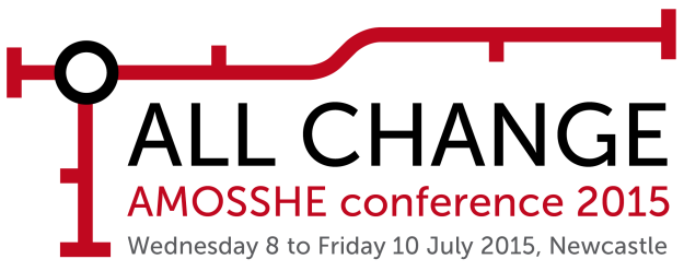ALL CHANGE - AMOSSHE conference 2015